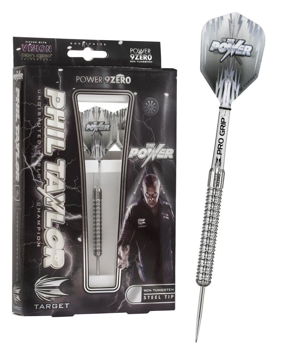 Phil Taylor Power 9 Zero Steel Tip Dart Pins